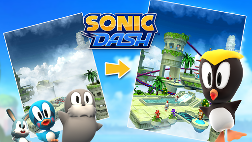 Sonic Dash - Endless Running & Racing Game स्क्रीनशॉट 8
