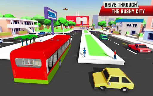 City Driving Coach Passenger Bus Simulator 3D screenshot 5