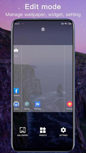 New Launcher 2021 themes, icon packs, wallpapers 6 تصوير الشاشة
