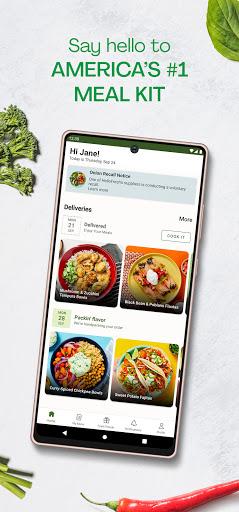 HelloFresh - Get Cooking screenshot 1