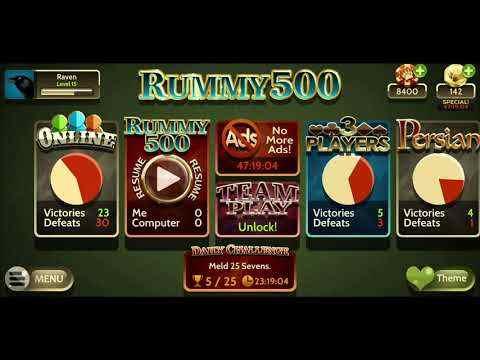 Rummy 500 screenshot 1