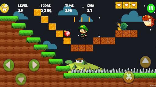 Super Bob's World : Free Run Game 3 تصوير الشاشة