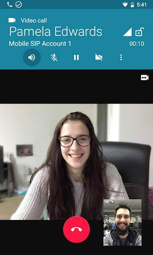 زويبر VOIP  الهاتف الرقمي 5 تصوير الشاشة