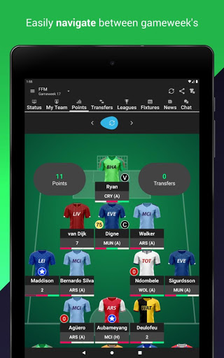 Fantasy Football Manager (FPL) 13 تصوير الشاشة