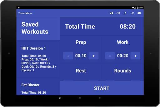 Simple HIIT Interval Timer скриншот 15