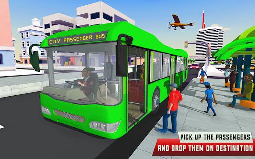 City Driving Coach Passenger Bus Simulator 3D screenshot 2