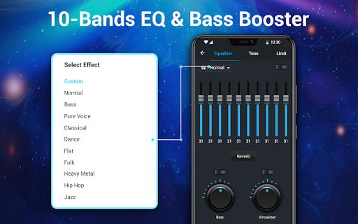 Pemutar musik - MP3 Pemain & 10 Band Equalizer screenshot 13