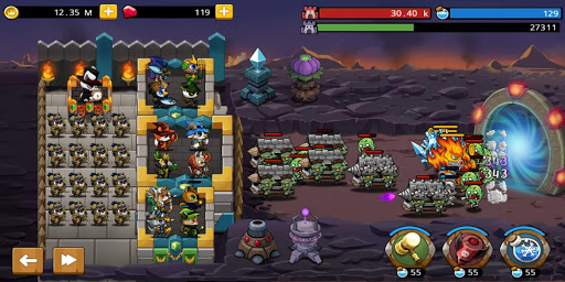 ملك قلعة الدفاع 5 تصوير الشاشة