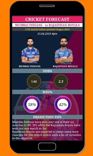 cricket forecast ( prediction, BBL ,BPL, IPL,PSL ) screenshot 2