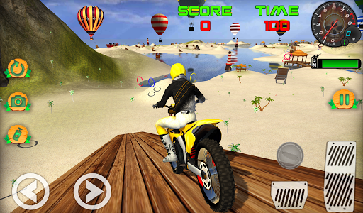 Motocross Beach Game: Bike Stunt Racing screenshot 2