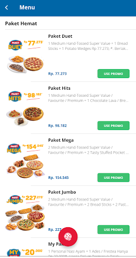 Domino's Pizza Indonesia - Home Delivery Expert screenshot 3