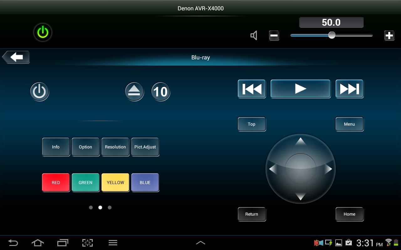 Denon Remote App screenshot 9