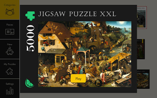 Jigsaw Puzzle XXL - 5000  1 تصوير الشاشة