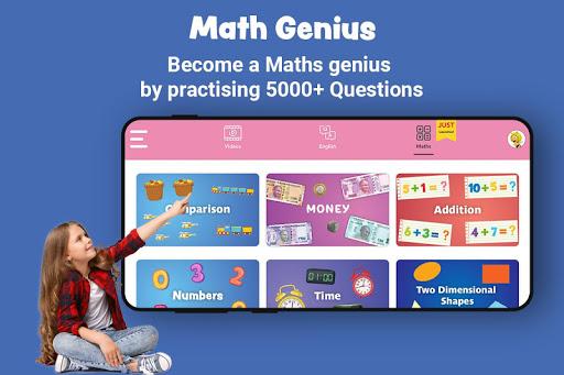 Best English kids app,Top Maths Learning kids app 2 تصوير الشاشة