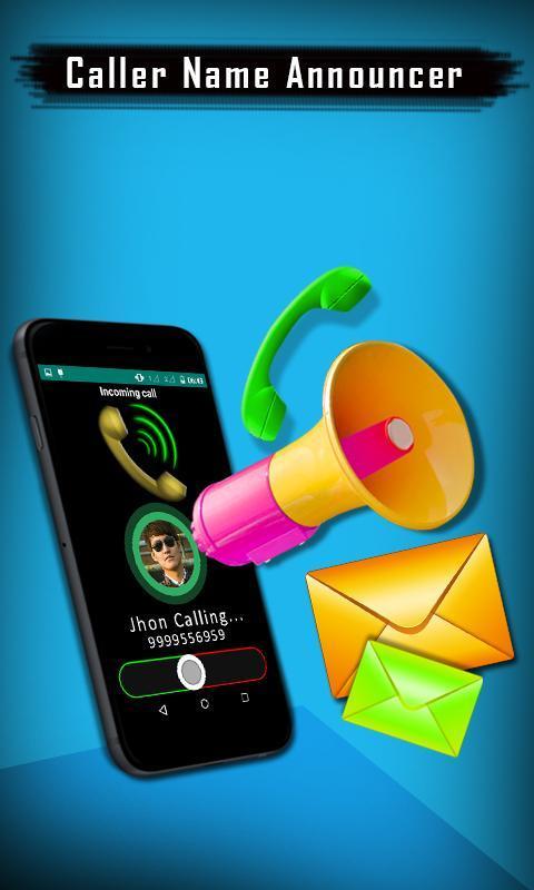 Caller Name Announcer - Speaker - Ringtone maker 1 تصوير الشاشة