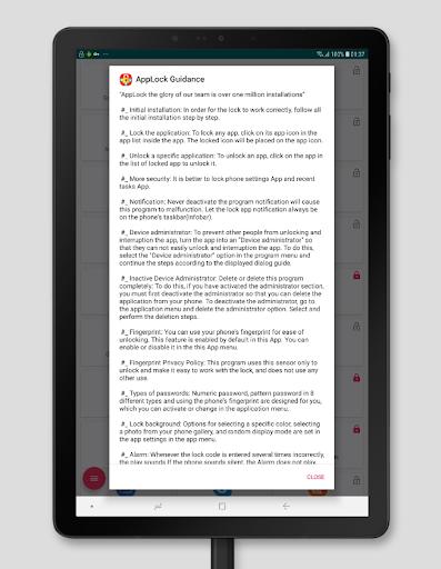 AppLock - Fingerprint 21 تصوير الشاشة