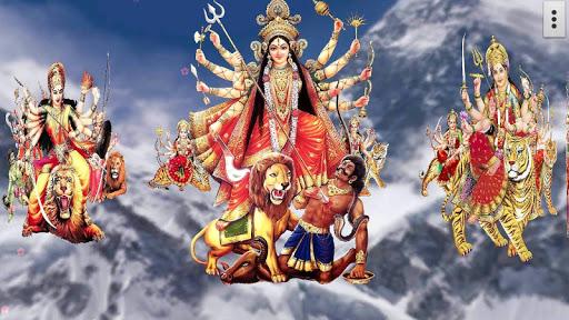 4D Maa Durga Live Wallpaper 5 تصوير الشاشة