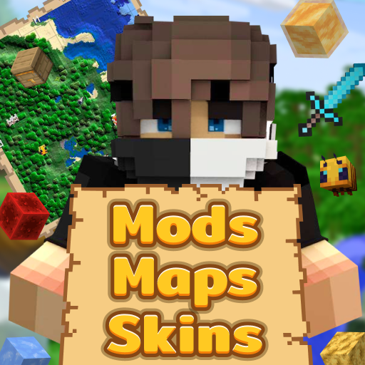 Mods Maps Skins for Minecraft icon