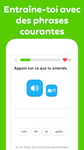 Duolingo - Apprendre une langue gratuitement screenshot 5