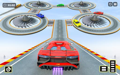Ramp Car Racing Stunt Games: Free Car Games 2021 screenshot 1