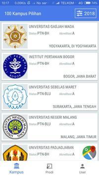 100 Kampus Pilihan 1 تصوير الشاشة