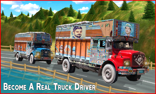 Big Truck Driving Games 2021- New Truck Games 3D screenshot 2