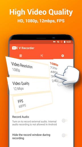 Screen Recorder, Video Recorder, V Recorder Editor screenshot 4
