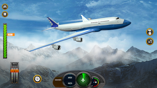 Airplane Real Flight Simulator 2020 : Plane Games screenshot 4