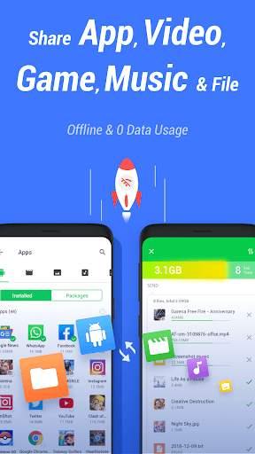 InShare - Share Apps & File Transfer screenshot 1