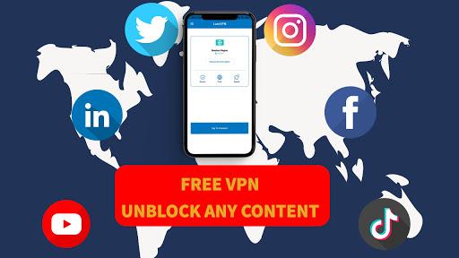 LomVPN   100% free VPN, security VPN screenshot 2