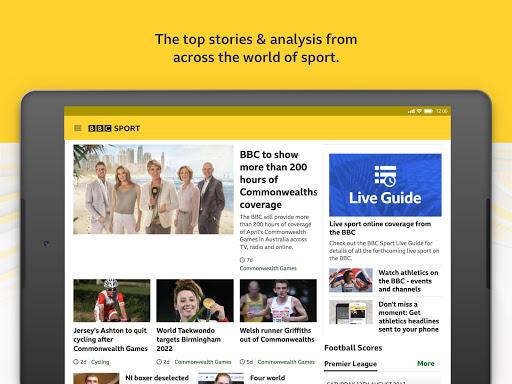BBC Sport - News & Live Scores 11 تصوير الشاشة