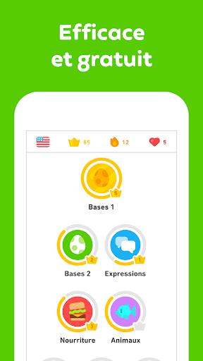 Duolingo - Apprendre une langue gratuitement screenshot 2