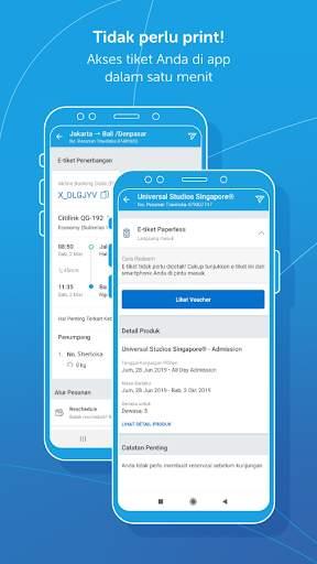 Traveloka: Booking Tiket, Hotel, Wisata & Kuliner screenshot 9
