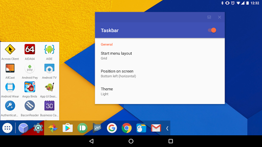 Taskbar - PC-style productivity for Android स्क्रीनशॉट 2