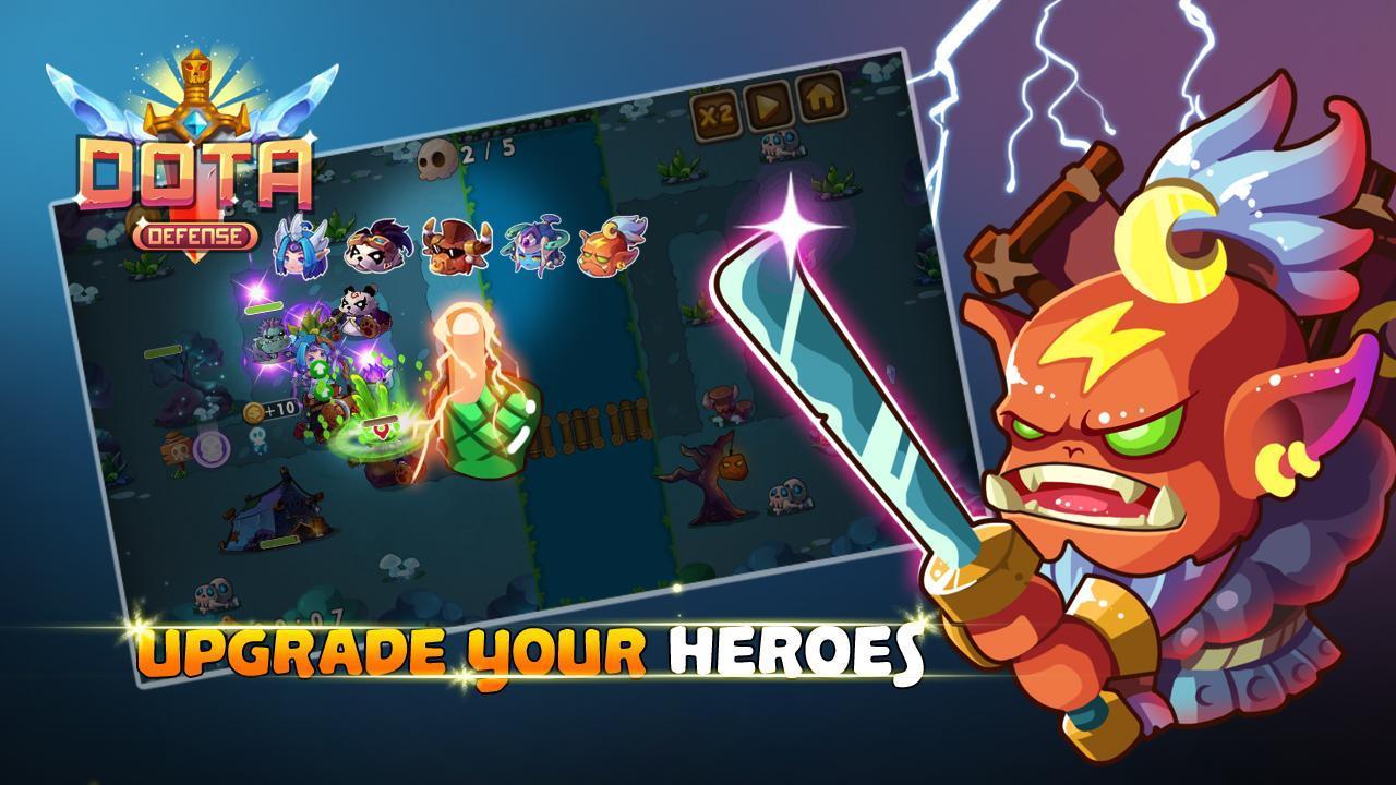 Heroes DotA Defense screenshot 3