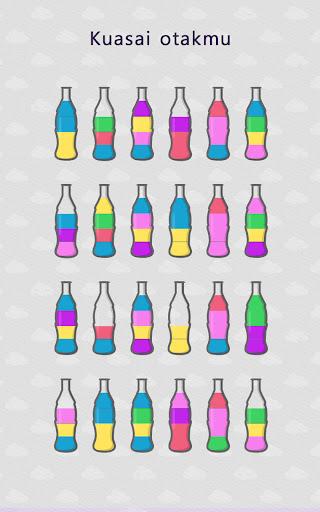 Water Sort Puz: Game Menyortir Puzzle Warna Cair screenshot 10