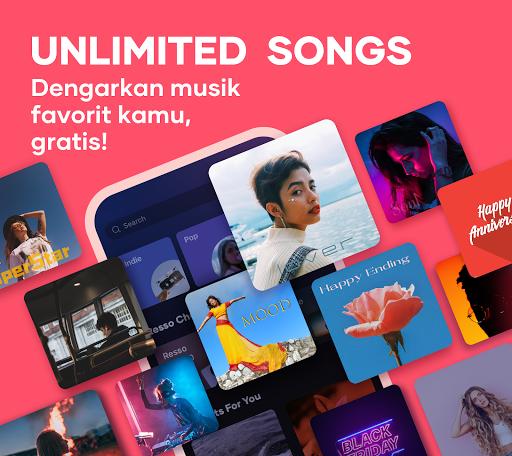 Resso Music - Musik, Lirik dan Radio screenshot 1