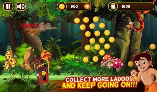 Chhota Bheem Jungle Run screenshot 2
