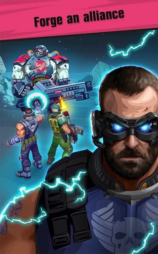 Сlicker idle game: Evolution Heroes स्क्रीनशॉट 2