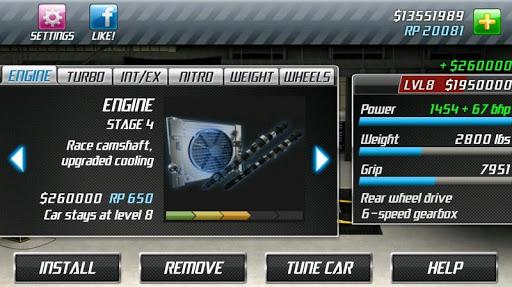 Drag Racing 3 تصوير الشاشة