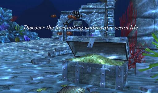 Live Wallpaper - 3D Ocean : World Under The Sea screenshot 1