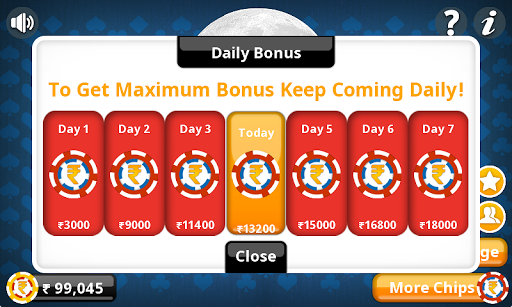 Teen Patti Offline Indian Poker 2 تصوير الشاشة