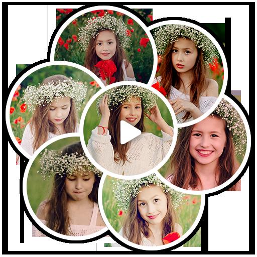 Video Photo Collage أيقونة