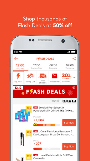 Shopee 12.12 Christmas Sale screenshot 4