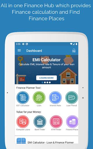 EMI Calculator - Loan & Finance Planner screenshot 9