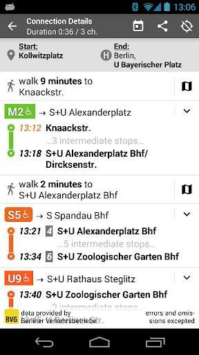 Offi - Journey Planner 4 تصوير الشاشة