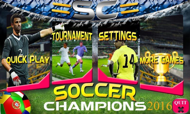Soccer Champions 2016 3 تصوير الشاشة