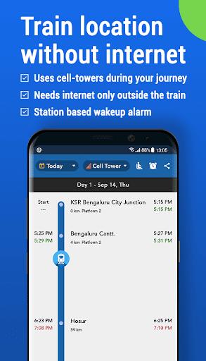 Where is my Train : Indian Railway Train Status screenshot 1