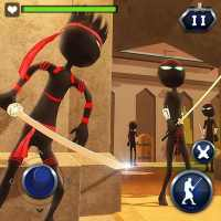 Hero Stickman Battle Game : Ninja Fighting Game 3D on 9Apps
