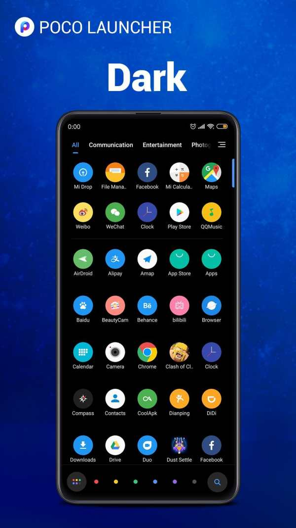 POCO Launcher 2.0 - Customize,  Fresh & Clean screenshot 1